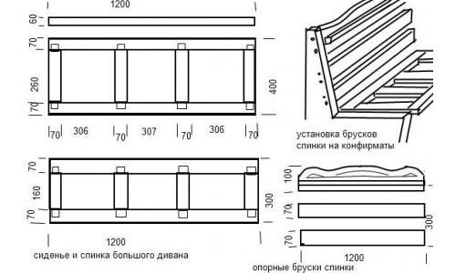 как сделать угловой диван своими руками чертежи как сделать угловой