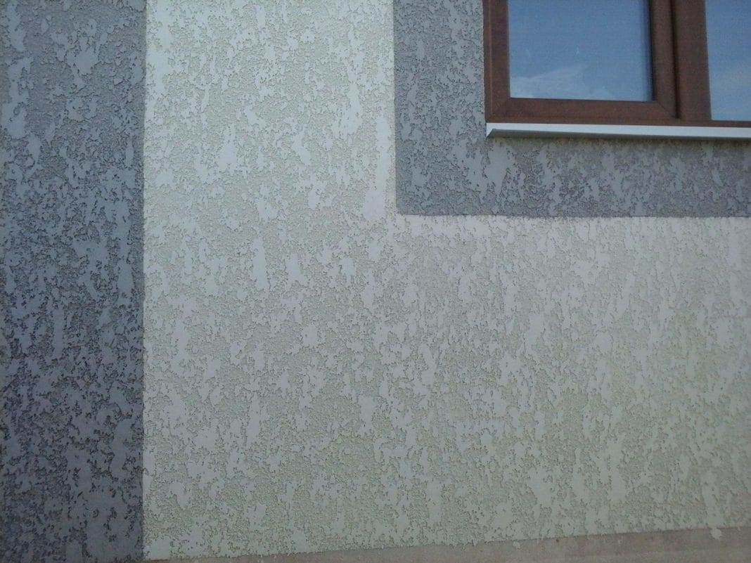 шуба из цементного раствора для дома своими