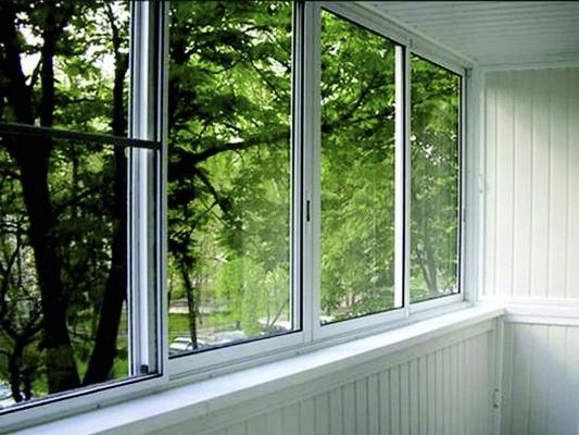 Остекление балконов алюминиевыми окнами стоимость отделки балкона пвх панелями за м2