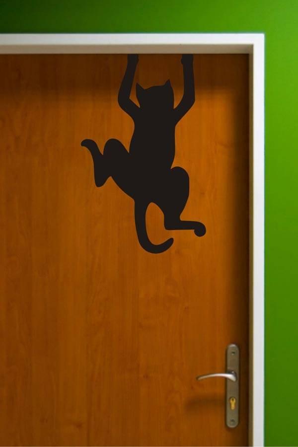 Прикольные рисунок для входной двери, октябре