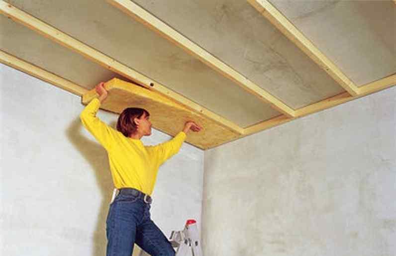 Картинки по запросу Особенности шумоизоляции потолка