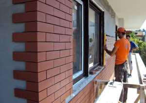 Клинкерная фасадная плитка – как облицевать стены своими руками