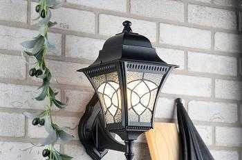наружные фонари освещения для частного дома
