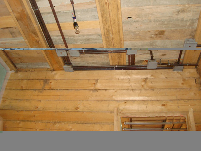 Скрытая электропроводка в деревянном доме своими руками 575