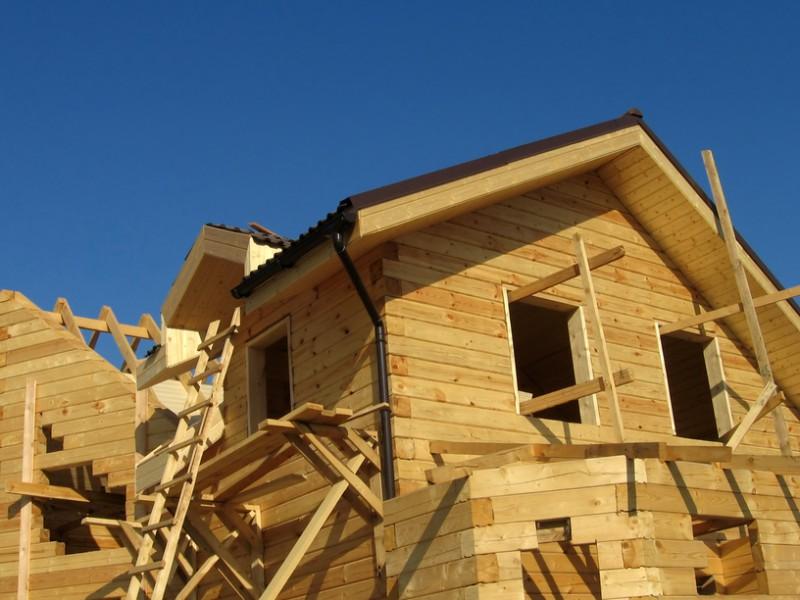 Дом из бруса своими руками без опыта строительства смотреть